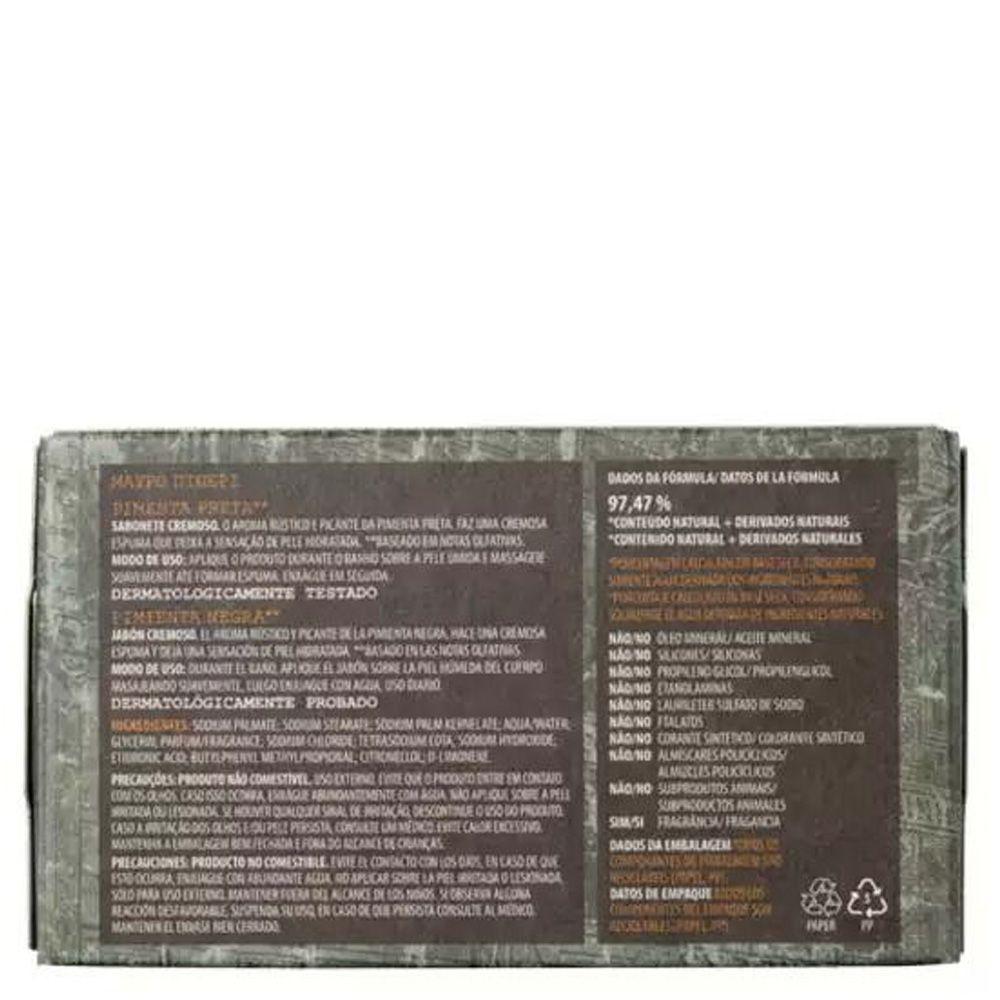 Sabonete Cremoso Pimenta Preta 100g - Korres