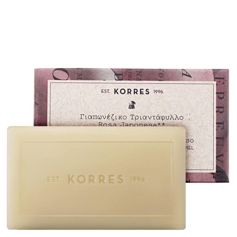 Sabonete Cremoso Rosa Japonesa 100g - Korres