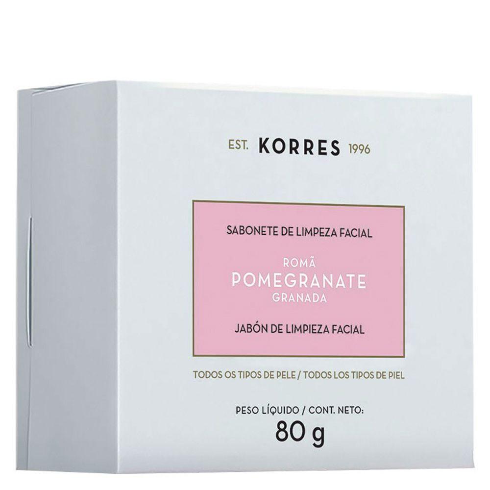 Sabonete de Limpeza Facial 80g - Linha Pomegranate - Korres