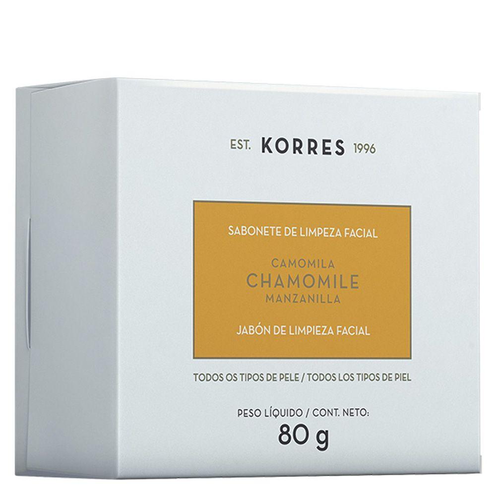 Sabonete de Limpeza Facial Camomila 80g - Korres