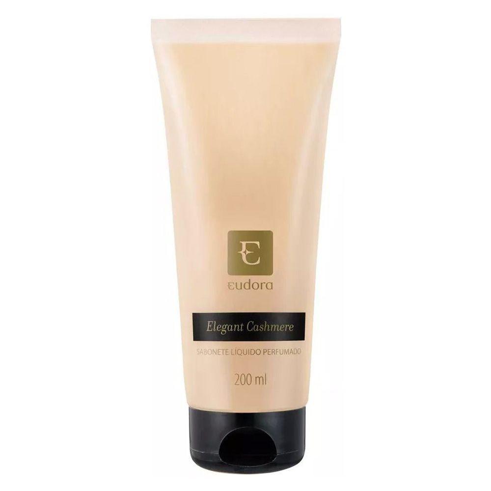 Sabonete Líquido Perfumado Elegant Cashmere 200ml - Eudora