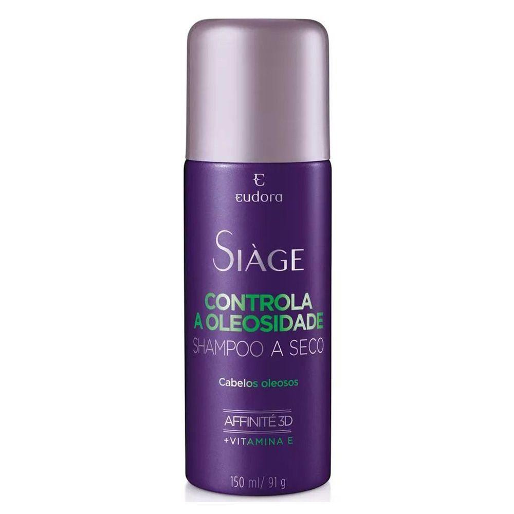Shampo a Seco Controla a Oleosidade Siàge 150ml - Eudora