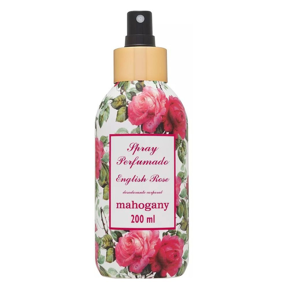 Spray de Perfumação English Rose 200ml - Mahogany