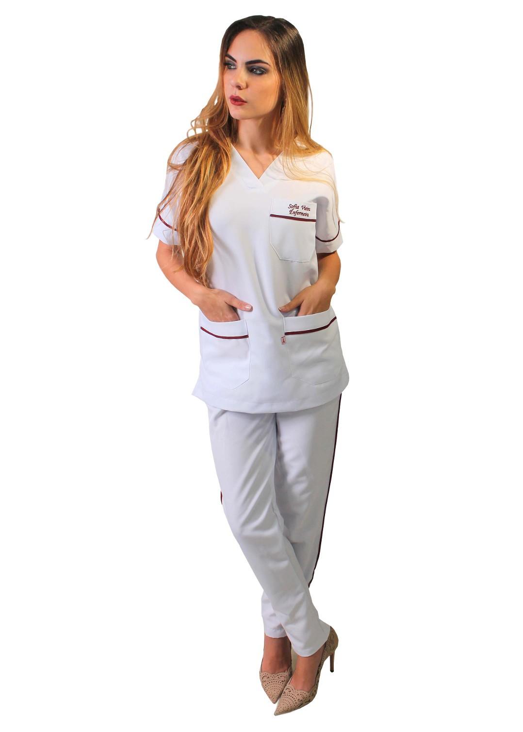 Conjunto Cirúrgico Biais Blanc Cores Diversas