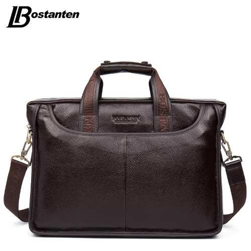 9574d498f MIRANDA SHOPPING - Bolsa Pasta Executivo Bostanten Em Couro