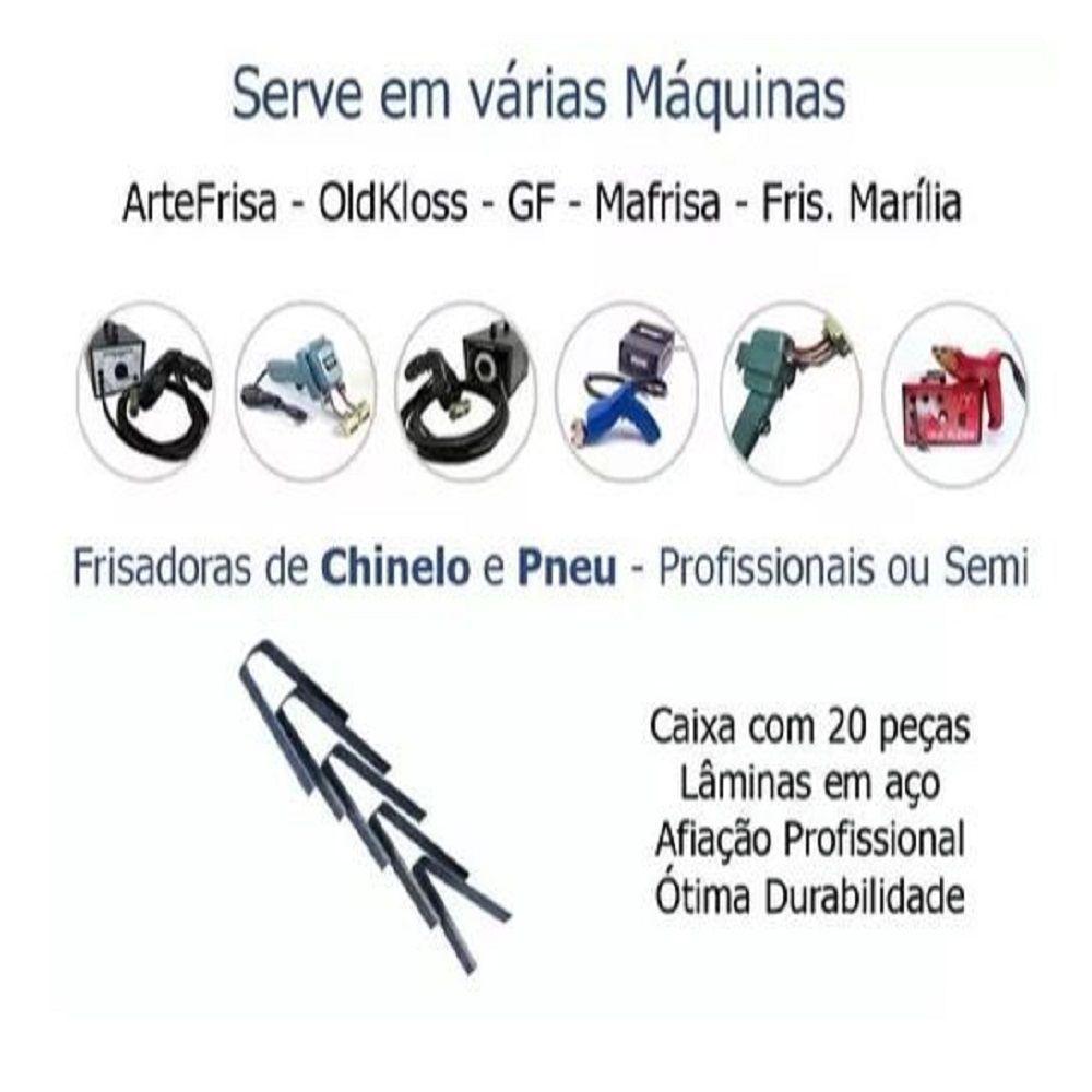 a49f63f63 ... Lâminas De Riscar Frisar Pneus Chinelos kit com 20 unidades - Miranda  Shopping