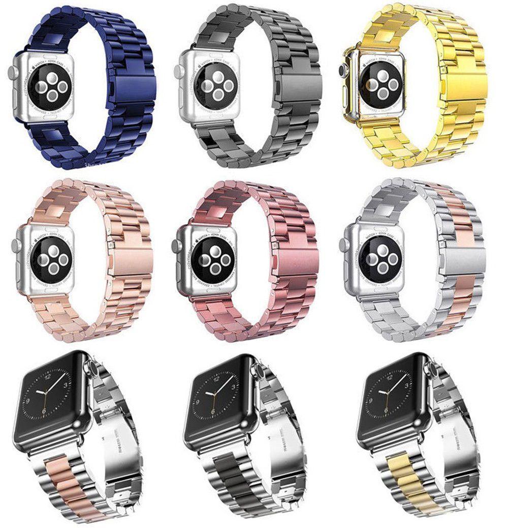 709788a9068 Pulseira Aço Inox Elos 38 44 mm Para Apple Watch Series 1 2 3 4 ...