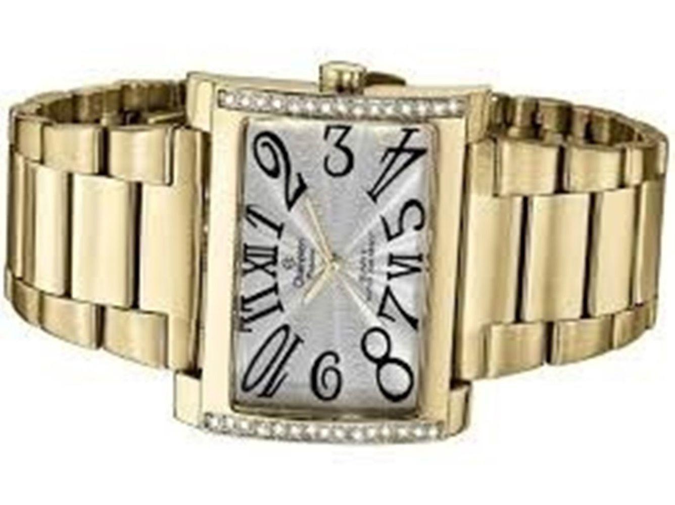 45d7672aac8 ... Relógio Champion Dourado Quadrado CH24240W + Kit Semijoias - Miranda  Shopping ...