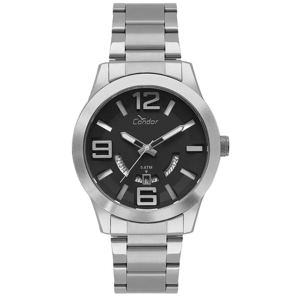 2c27f7cdb9c Relógio Condor Masculino CO2115KTX3P Speed Prata - Miranda Shopping ...