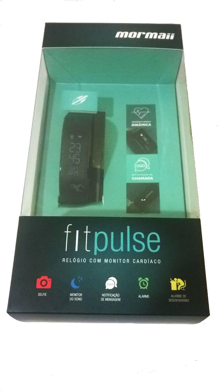 cace48c15d5 ... Relógio Mormaii Fitpulse Monitor Cardíaco Frequencímetro MOSW0078P  Digital - Miranda Shopping ...