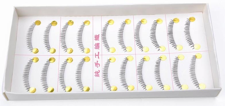 10 pares cílios postiços inferiores