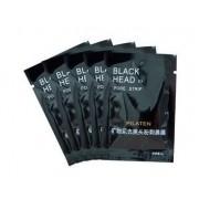 5 Sachês Pilaten Black Head Mascara Preta
