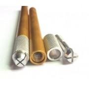 Caneta Tebori de alumínio Dourado - Unidade