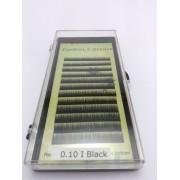 Fios para alongamento de sobrancelhas 6mm 0.10 Black - Preto