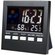 Higrômetro Digital Medidor de Umidade, Temperatura e Relógio