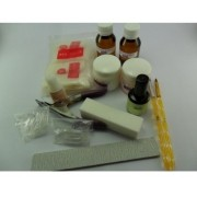 Kit Completo Unhas de Porcelana
