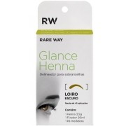 Kit Henna Loiro Escuro Glance Rare Way