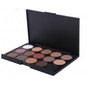 Paleta sombras 15 cores modelo 1