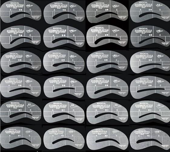 24 Moldes Design Sobrancelhas