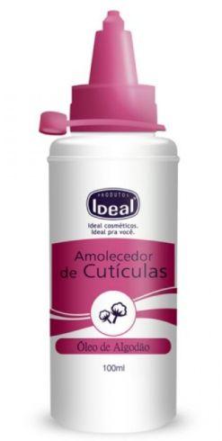 Amolecedor de Cutículas Oléo de Algodão Ideal 100 ml  (2441)