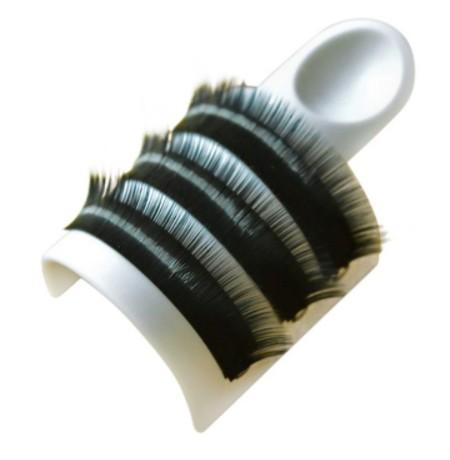 Anel com base para fixar cílios e porta cola