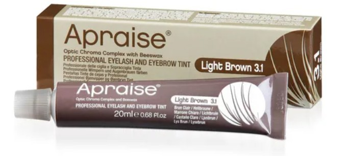 Tintura para Cílios APRAISE 20ml - 3.1 Light Brown - Castanho Claro