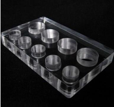 Base acrílica para 9 batoques