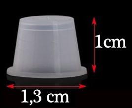 Batoque plástico M 13mm
