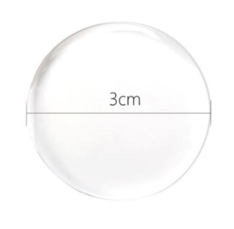 Bolha de silicone para fans