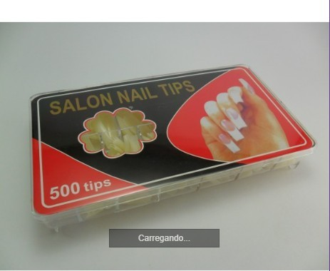 Caixa Tip Square Natural 500 unidades