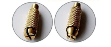 Caneta Tebori Premium Preta com Dourada