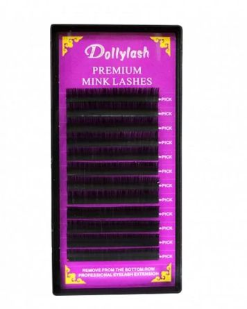 Cílios Mink Fio a Fio J 0.20 Dollylash
