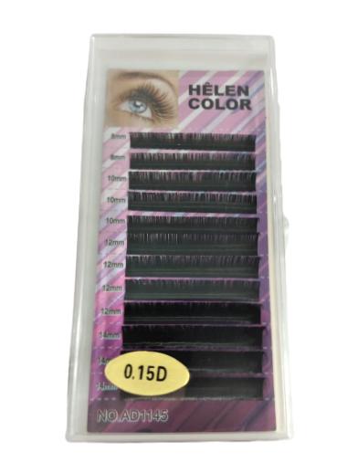 Cílios Mink Mix 8/10/12/14mm Helen Color
