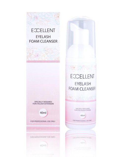 Espuma de Limpeza para Fio a Fio Foam Cleanser Eyelash 40ml Excellent