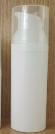 Frasco Pump Espumador 150ml Branco com Válvula