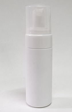 Frasco Pump Espumador 50ml Branco com Válvula