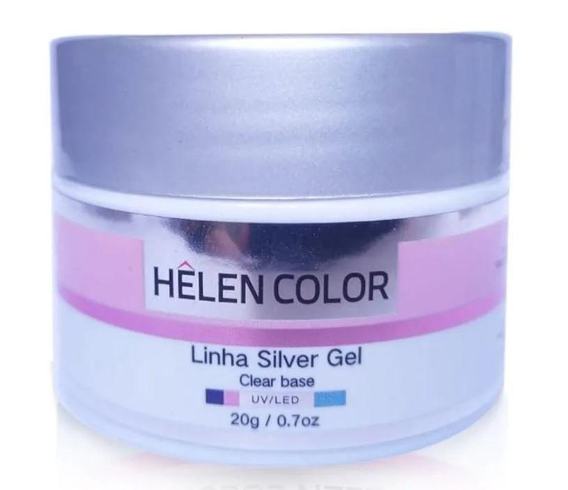 Gel UV LED Helen Color Linha Silver 20g