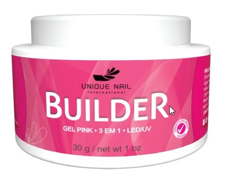 Gel UV Led Unique BUILDER pink 30g leitoso