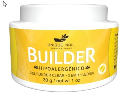 Gel UV Led Unique BUILDER transparente clear 30g