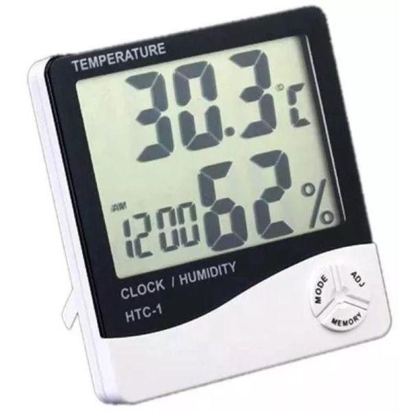 Higrômetro e Termômetro Digital Grande