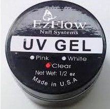 Kit 12 Gel UV Transparente EZFlow