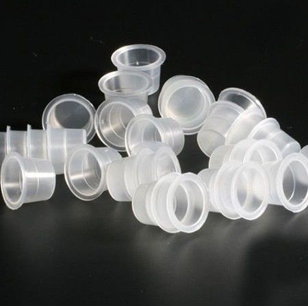 Kit com 25 Batoque plástico Transparente G