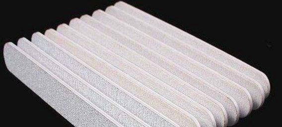 Lixa reta Branca para unhas profissional 180/240