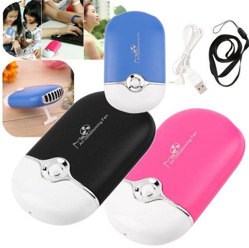 Mini ventilador para secagem cola alongamento recarregável USB