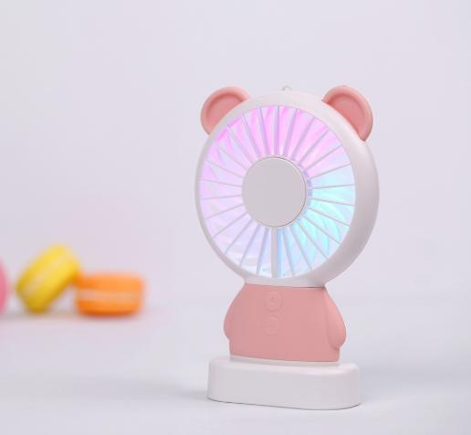 Mini Ventilador Portátil - Urso - Recarregável