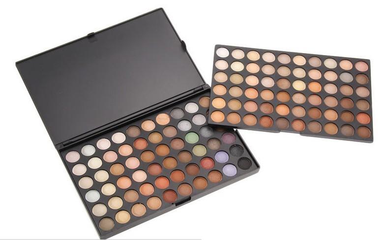 Paleta sombras 120 cores modelo 4