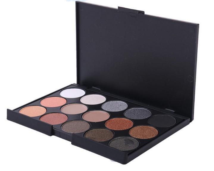 Paleta sombras 15 cores modelo 2