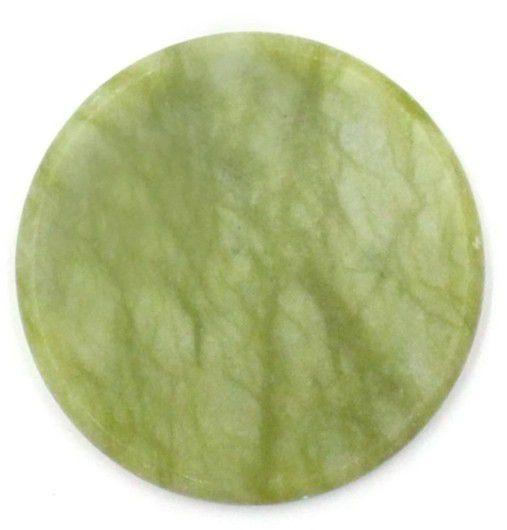 Pedra de jade para depositar cola