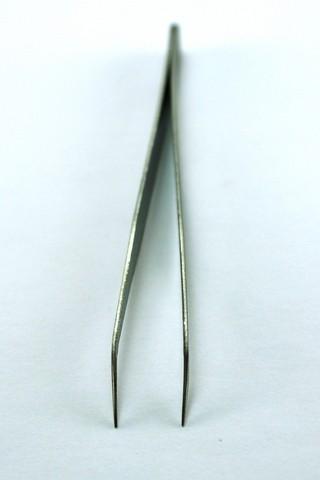 Pinça fina inox curta Curva