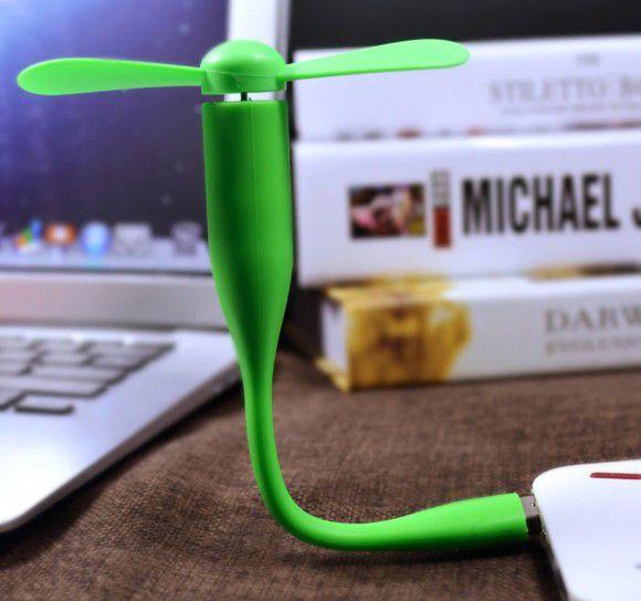 Ventilador para secar cola cílios USB - Branco